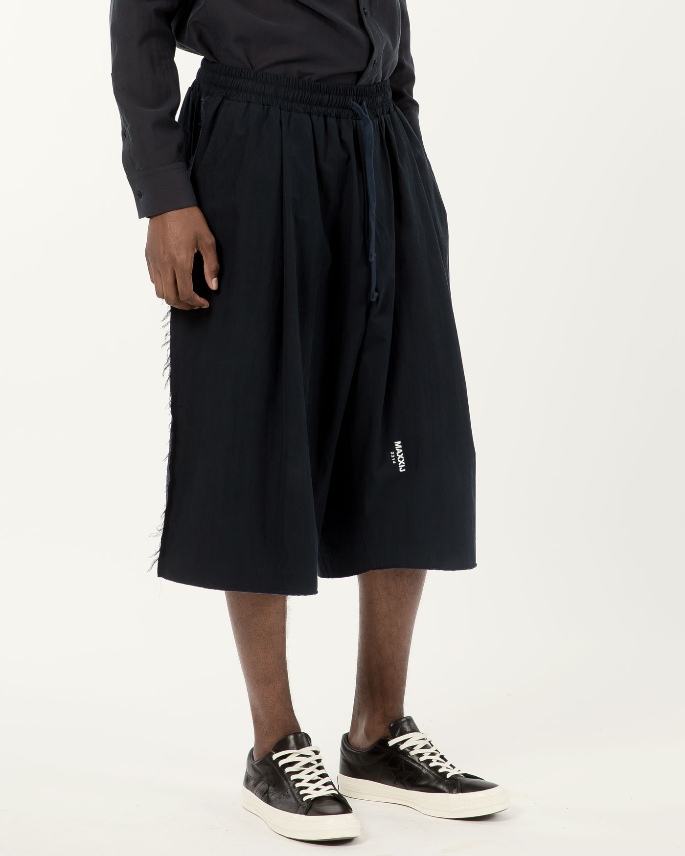 New Wide Trousers Navy