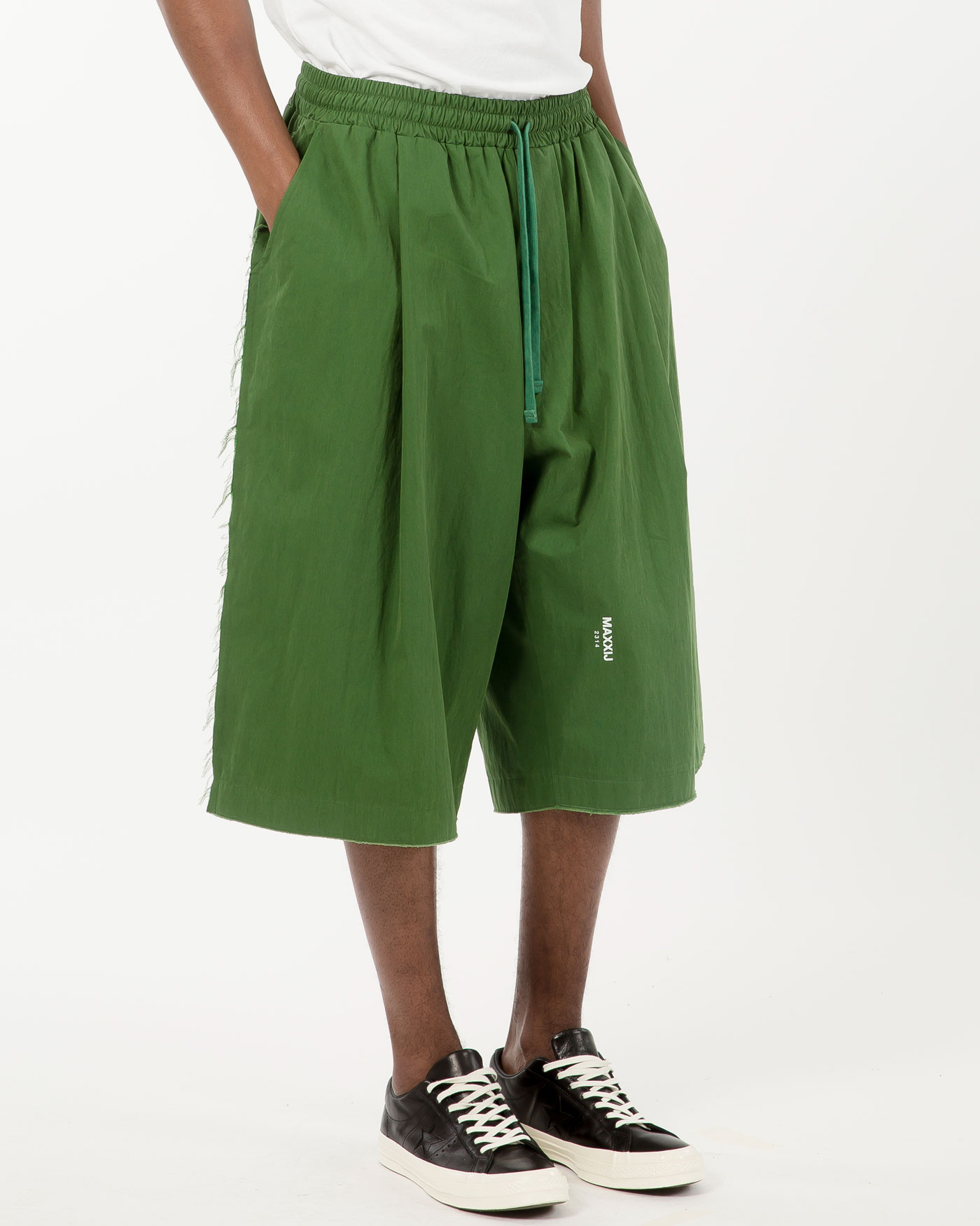 New Wide Trousers Green