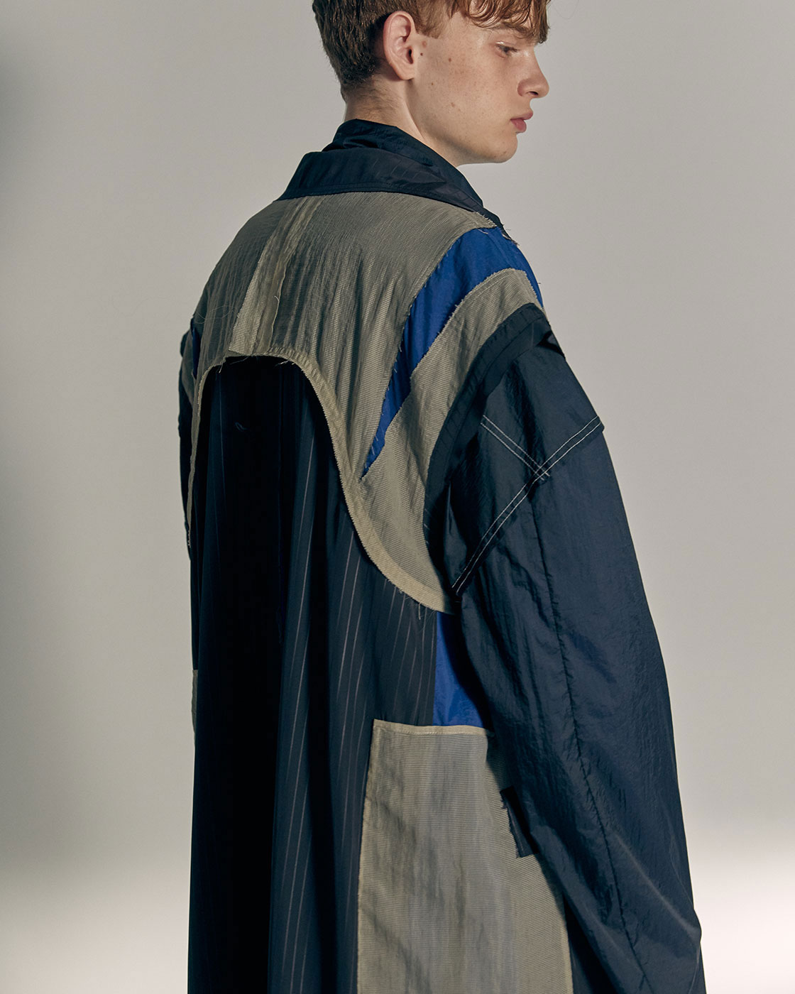 Reconstructured  Sleeveless Coat
