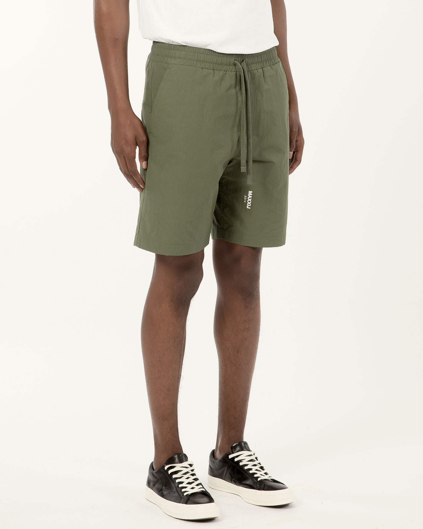 Smart Basic Shorts Khaki
