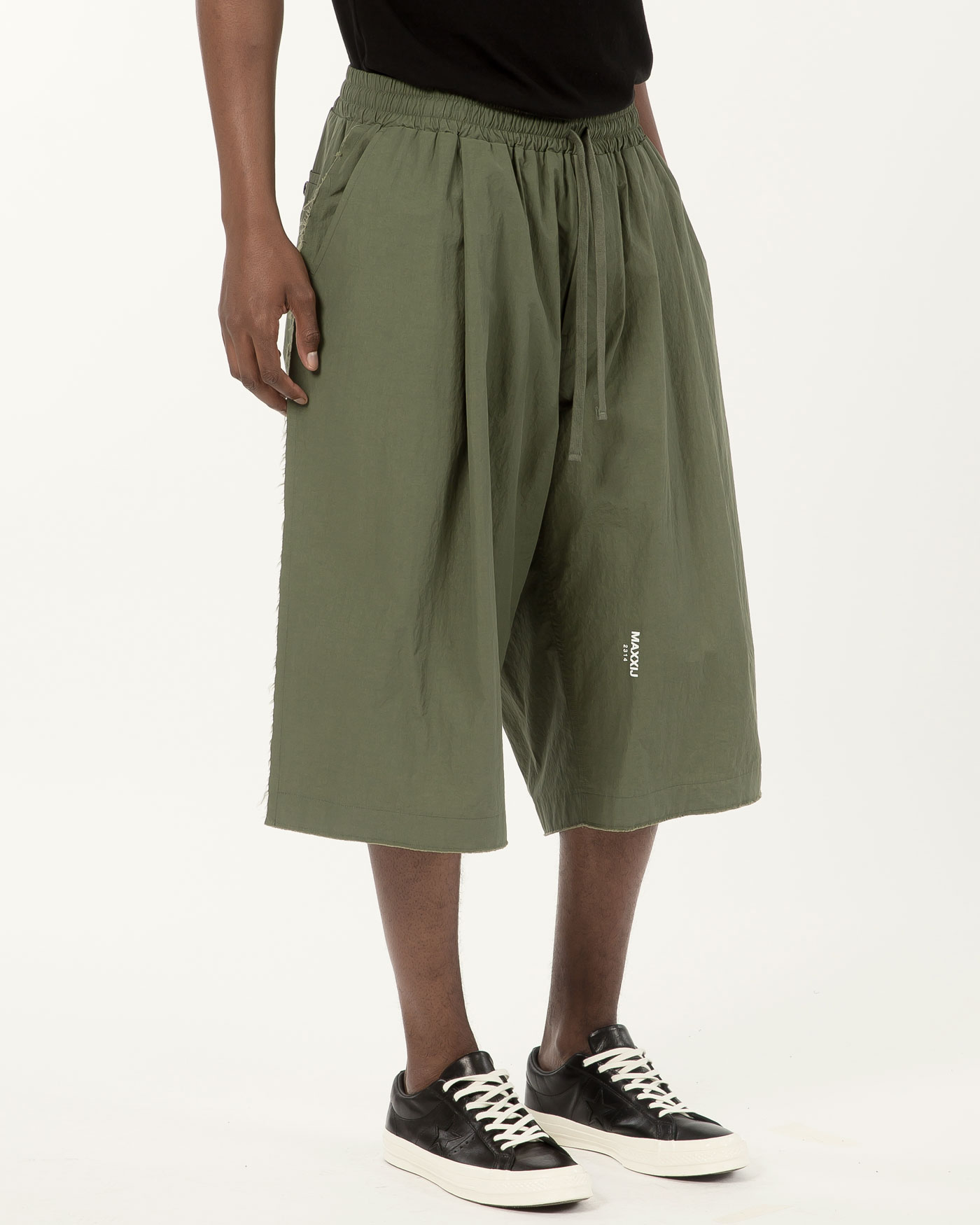 New Wide Trousers Khaki