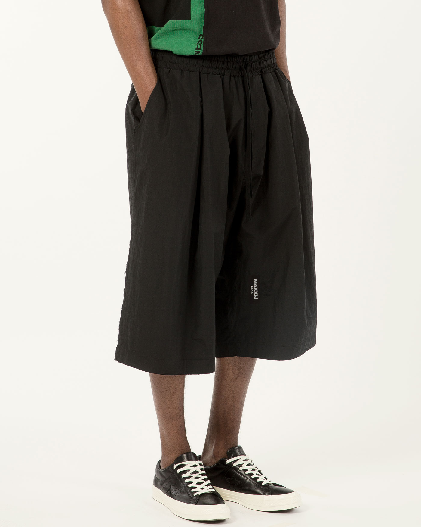New Wide Trousers Black