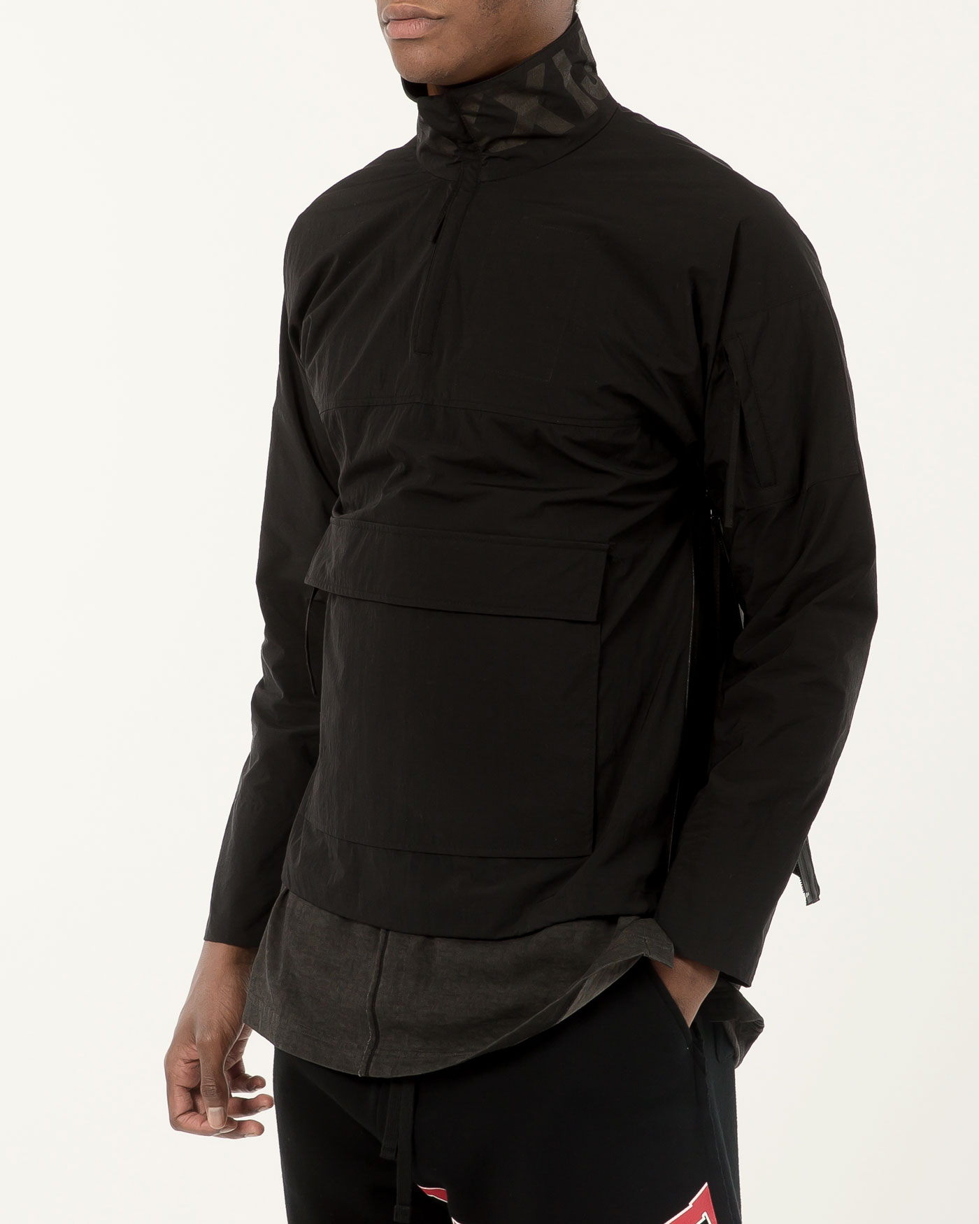 Anorak Jumper Black